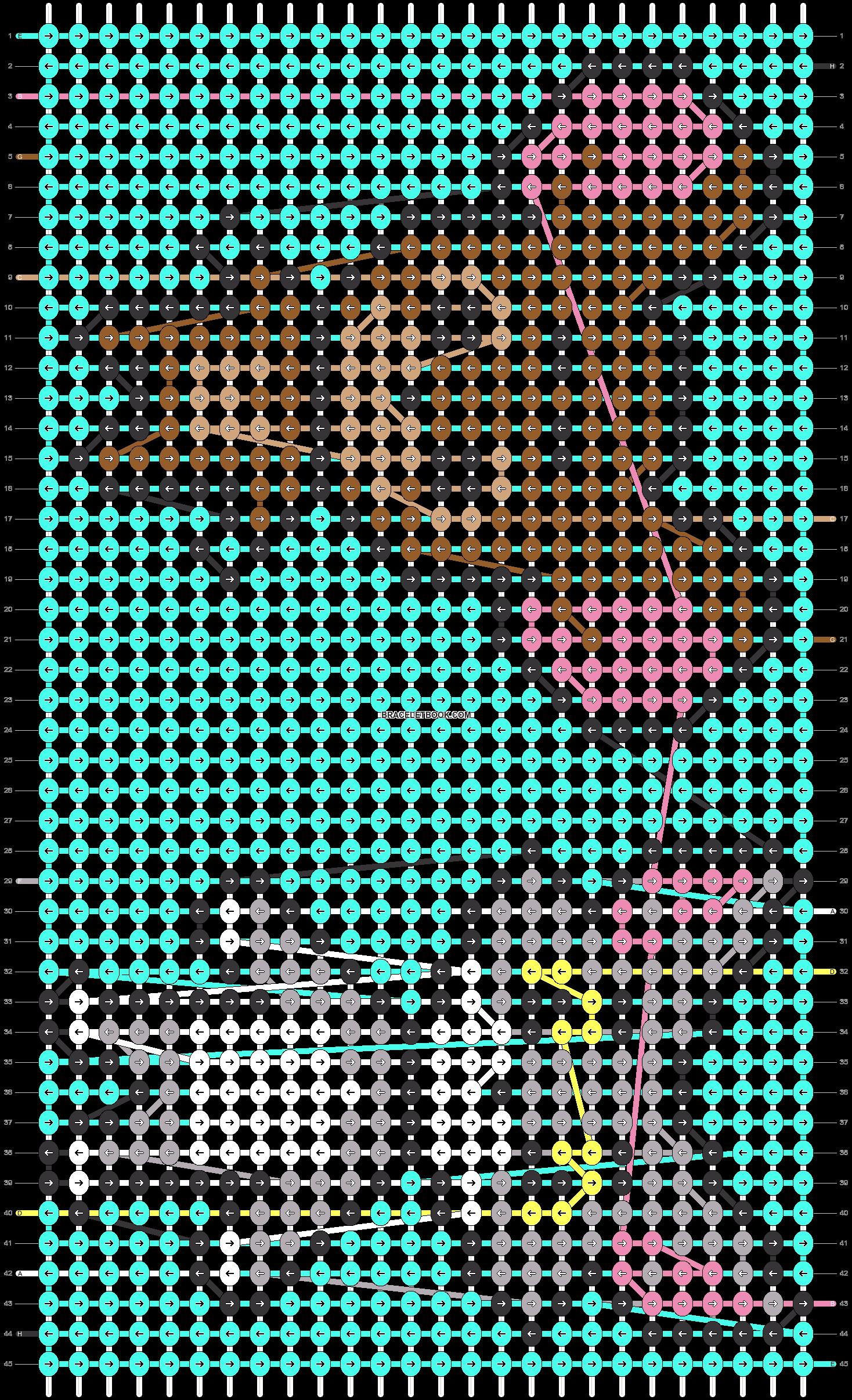 Alpha pattern #42549 pattern