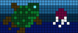 Alpha pattern #42558