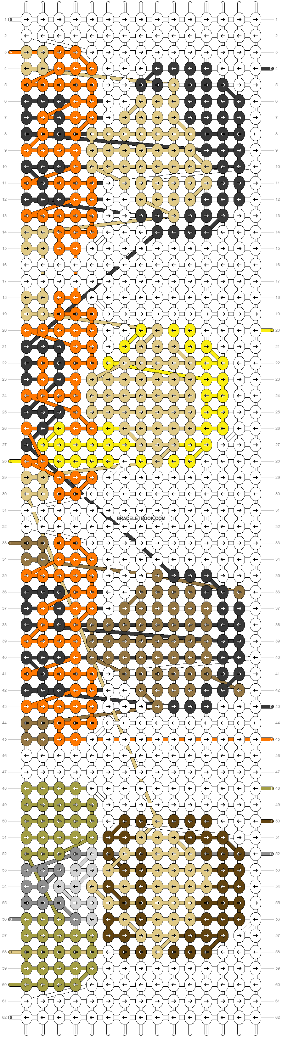Alpha pattern #42570 pattern