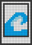Alpha pattern #42590