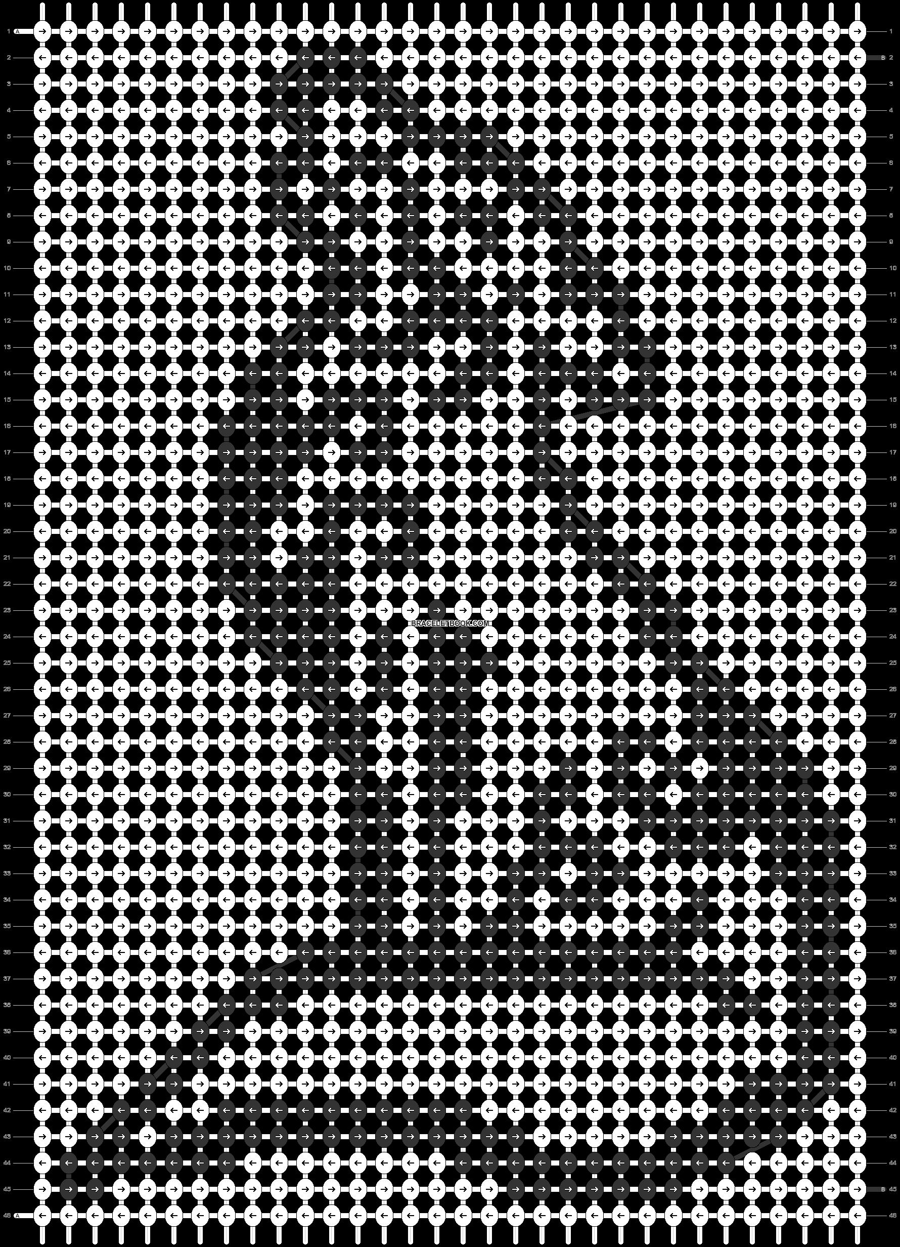 Alpha pattern #42603 pattern