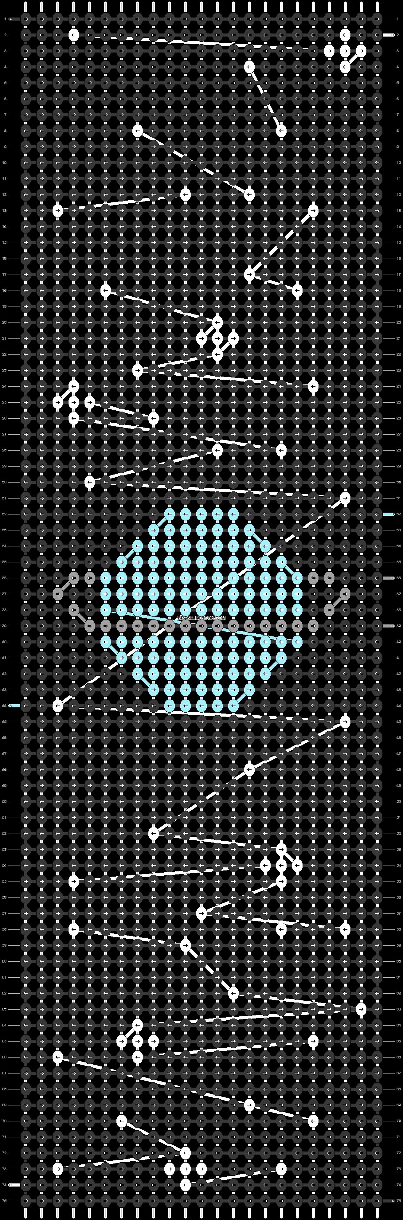 Alpha pattern #42607 pattern