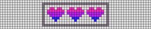 Alpha pattern #42615