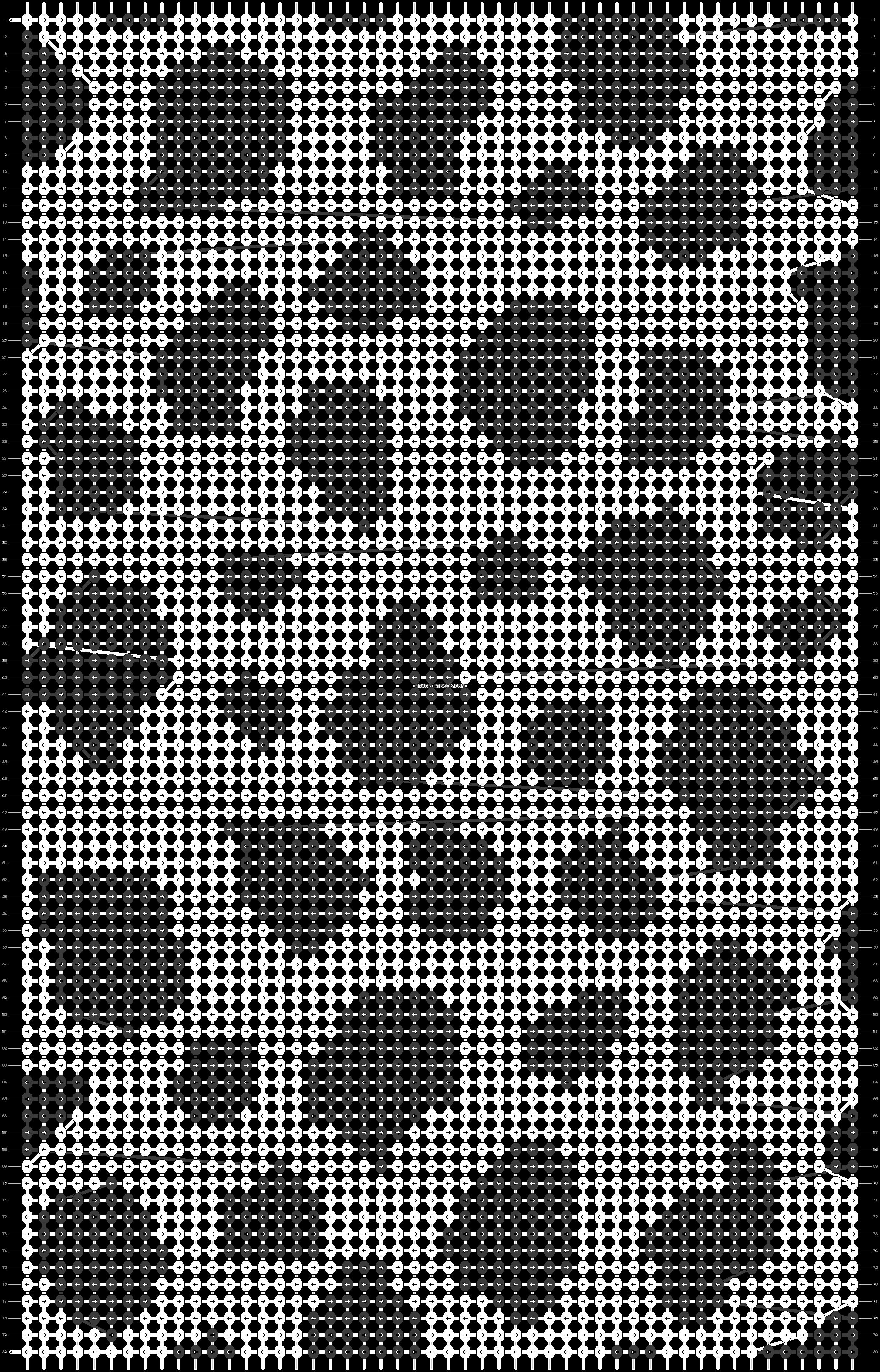 Alpha pattern #42617 pattern