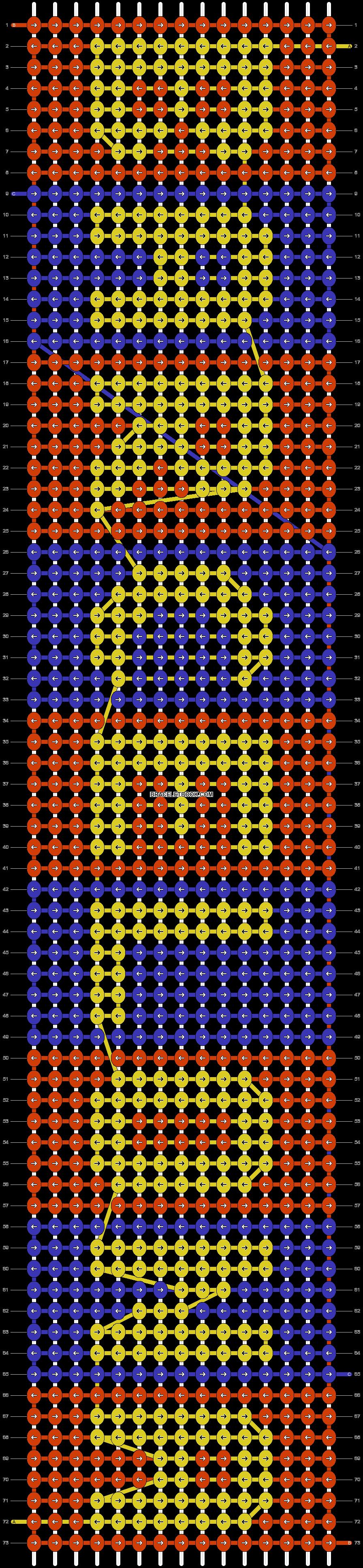Alpha pattern #42618 pattern