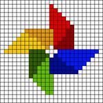 Alpha pattern #42631