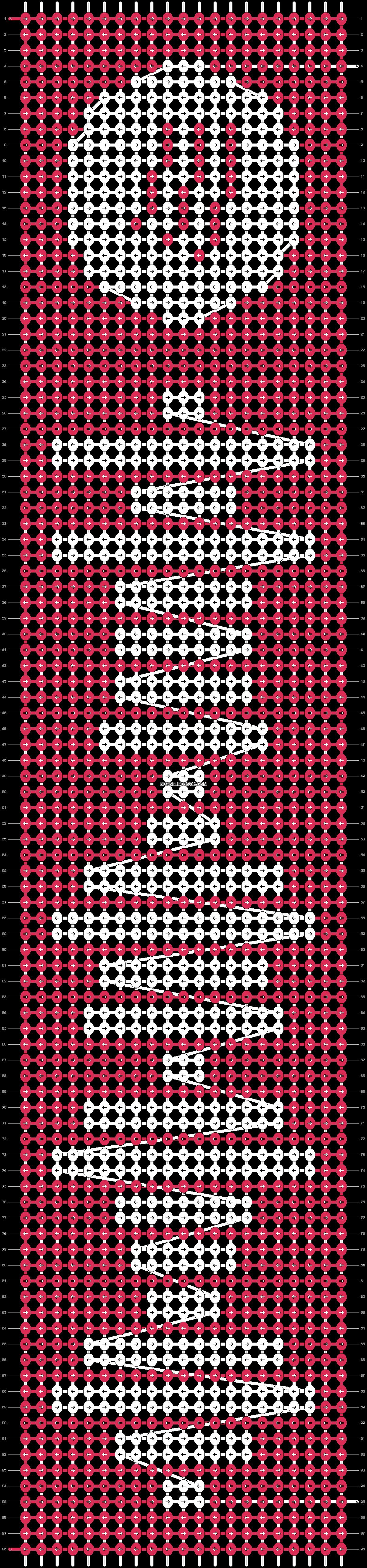 Alpha pattern #42634 pattern