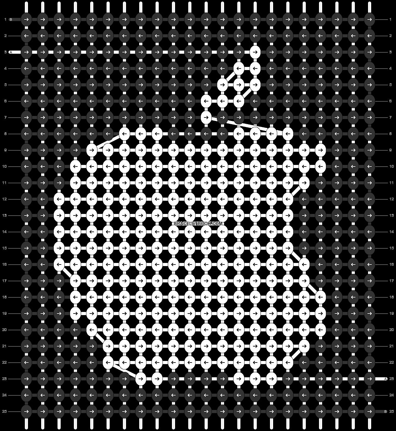Alpha pattern #42636 pattern