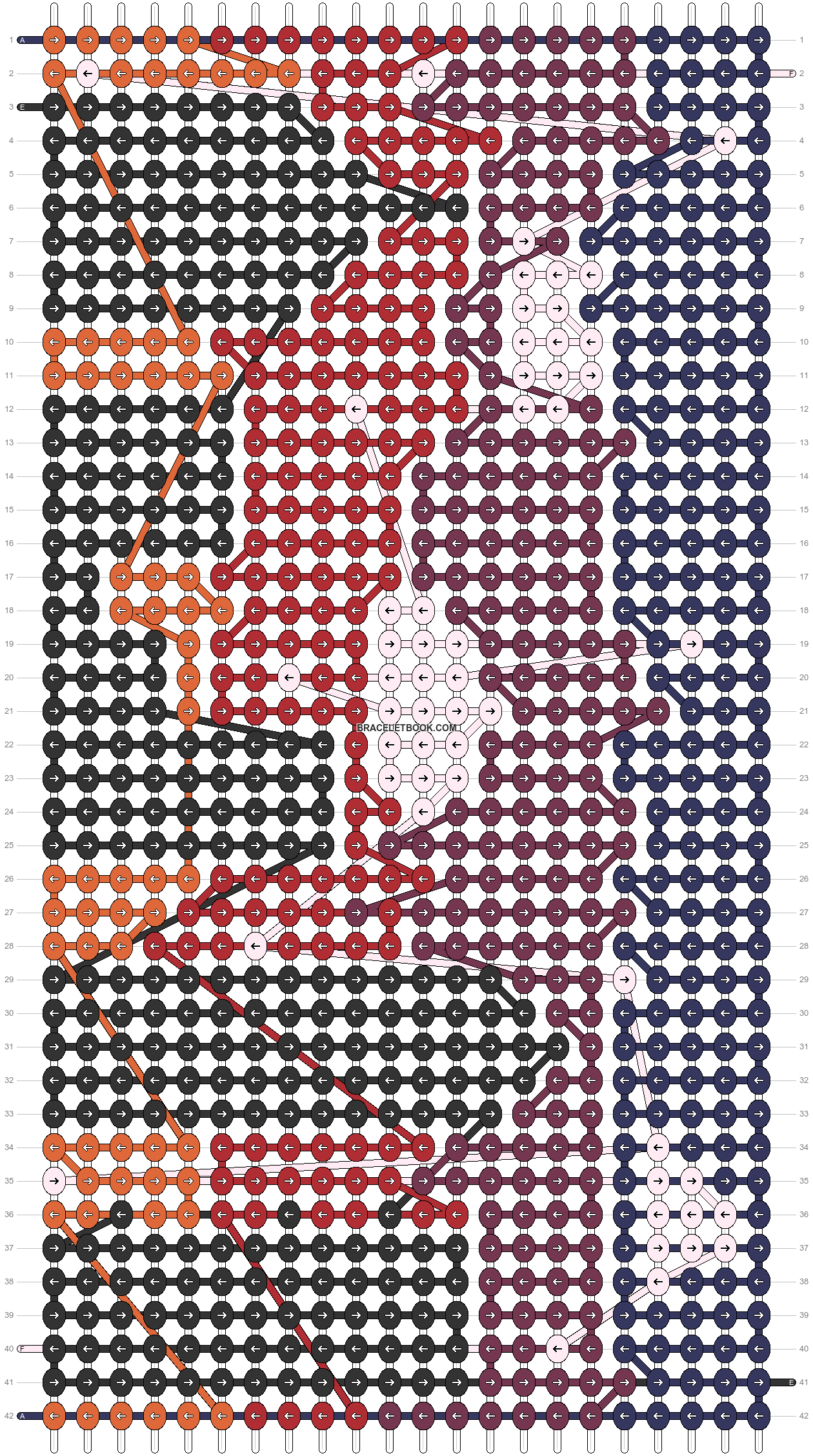 Alpha pattern #42642 pattern