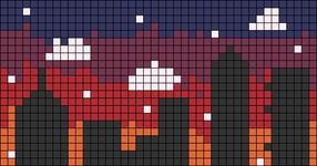 Alpha pattern #42642
