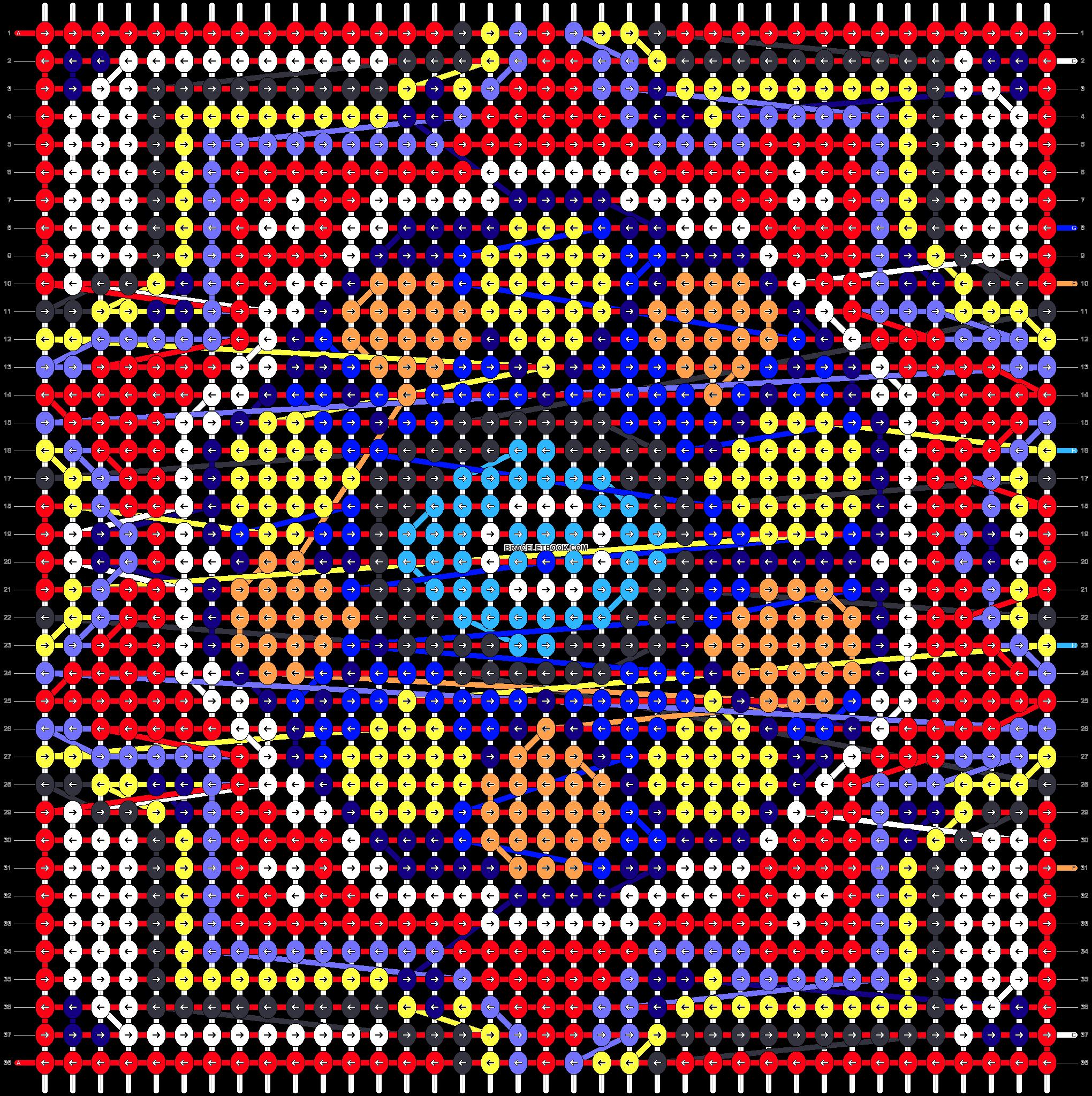 Alpha pattern #42656 pattern