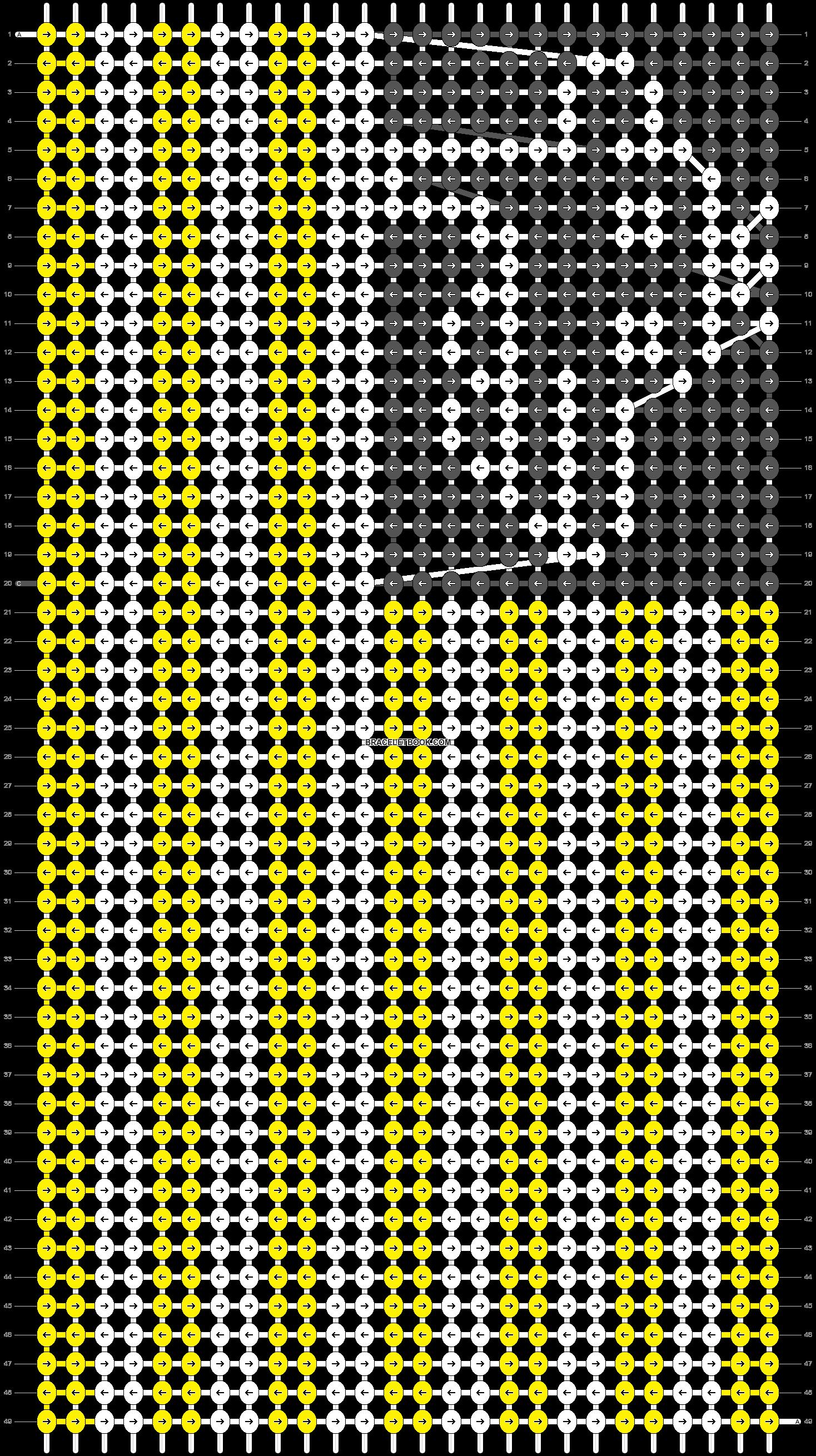 Alpha pattern #42658 pattern