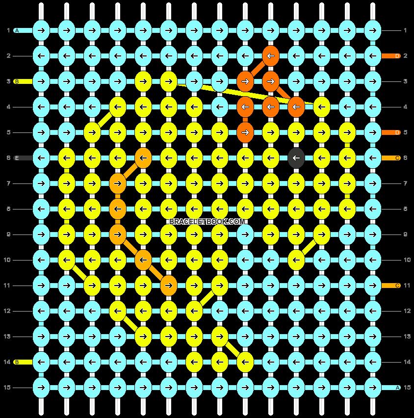 Alpha pattern #42660 pattern