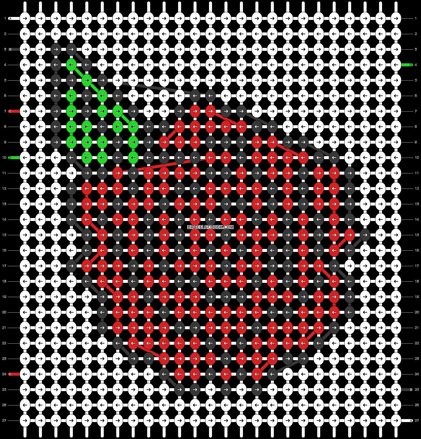 Alpha pattern #42662 pattern