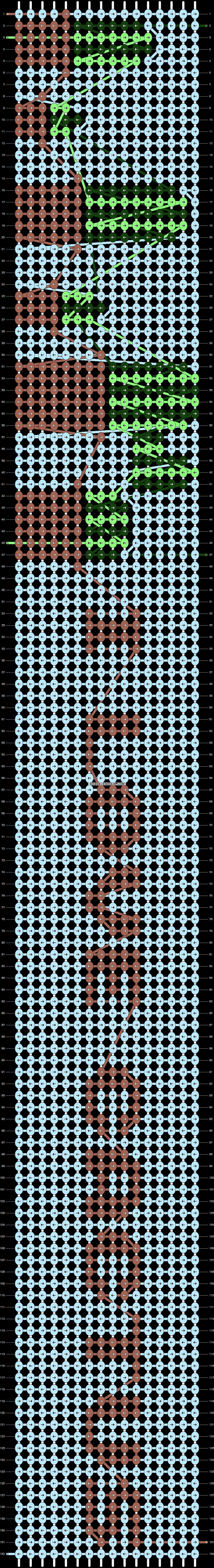 Alpha pattern #42666 pattern