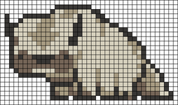 Alpha pattern #42670
