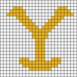 Alpha pattern #42685