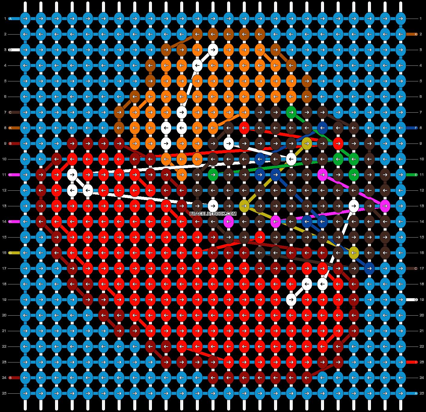Alpha pattern #42739 pattern