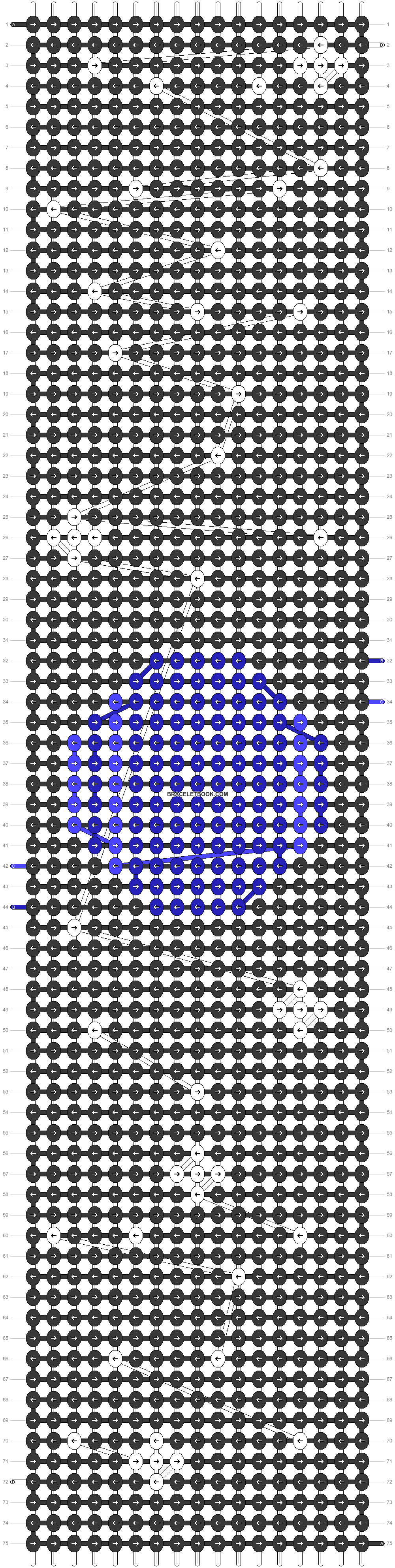 Alpha pattern #42767 pattern