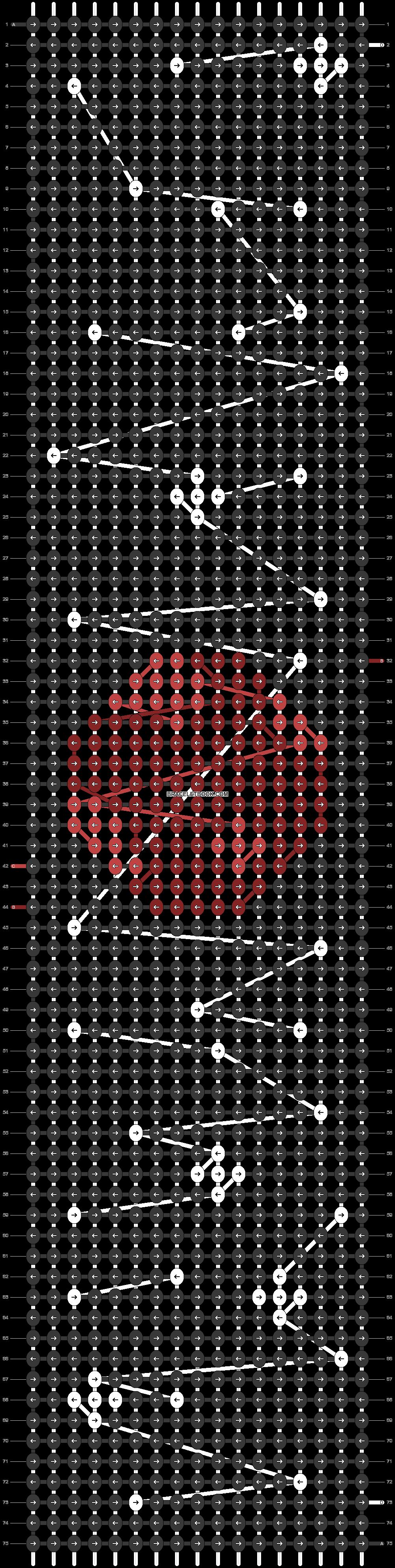 Alpha pattern #42770 pattern