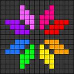 Alpha pattern #42780