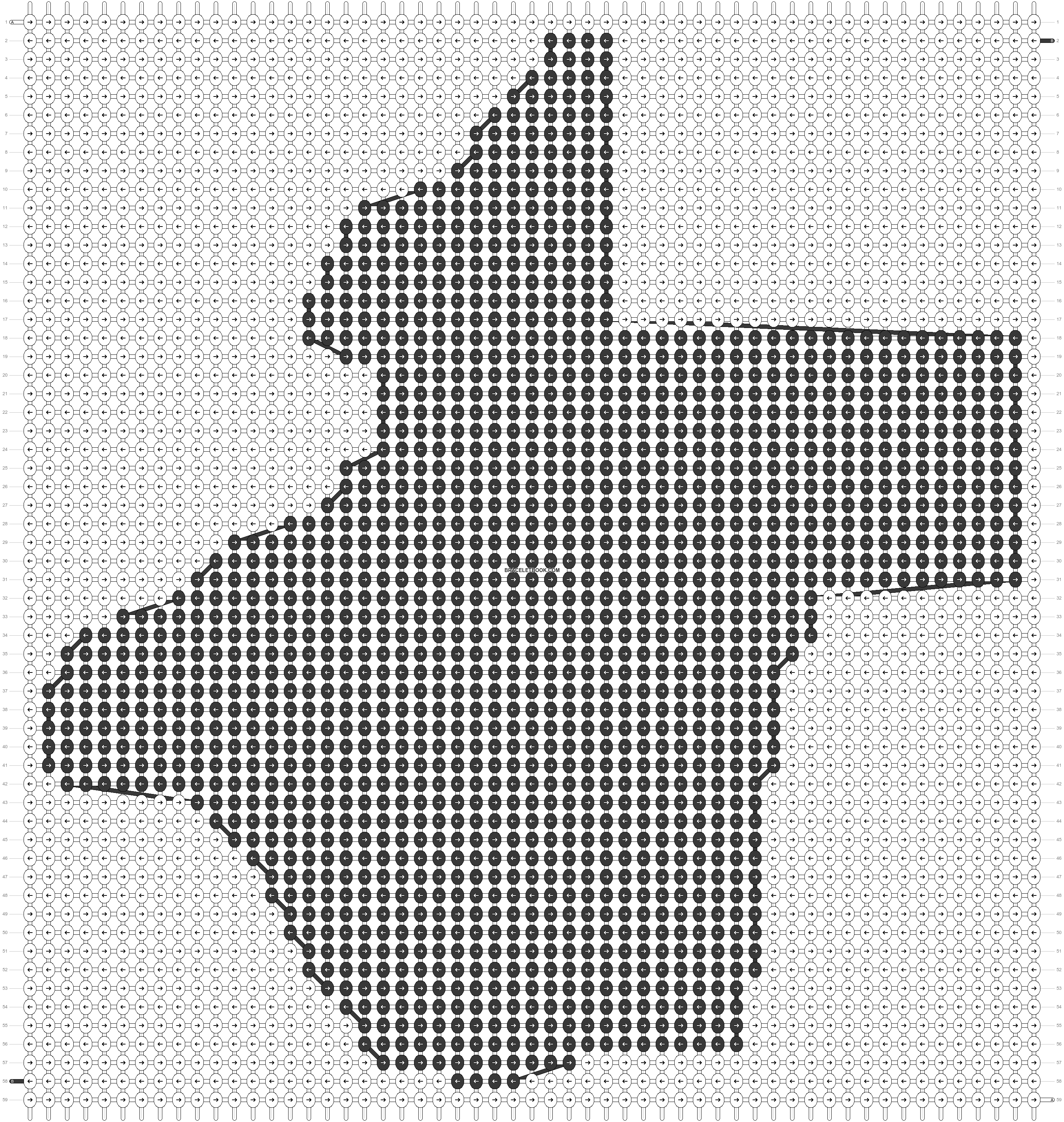 Alpha pattern #42788 pattern