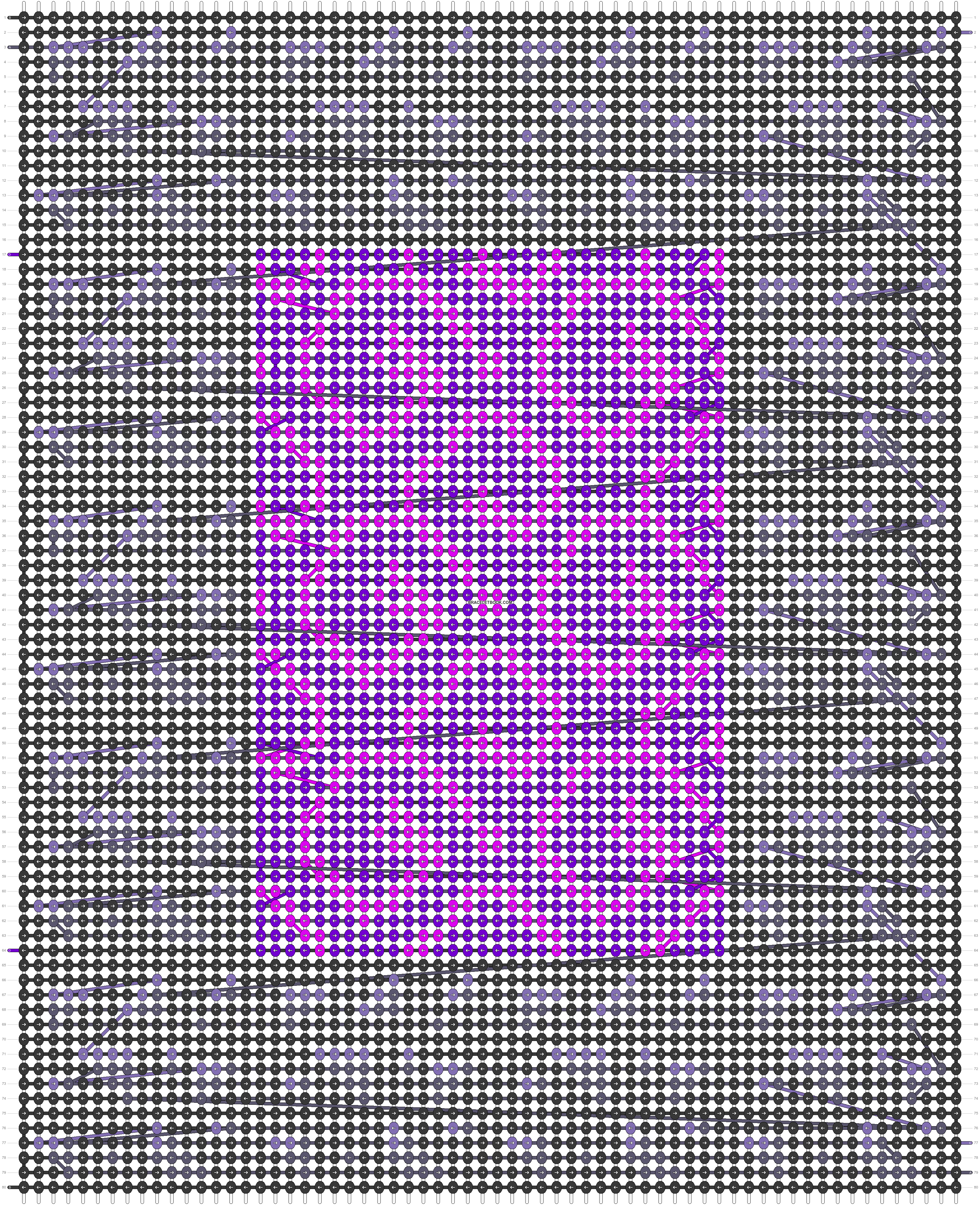 Alpha pattern #42850 pattern