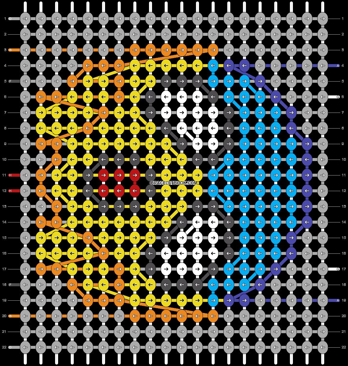 Alpha pattern #42854 pattern