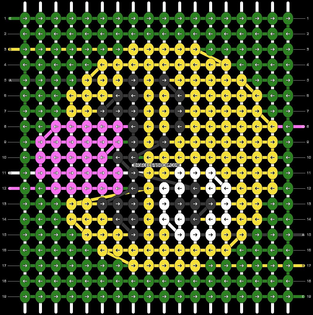 Alpha pattern #42858 pattern