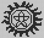 Alpha pattern #42859