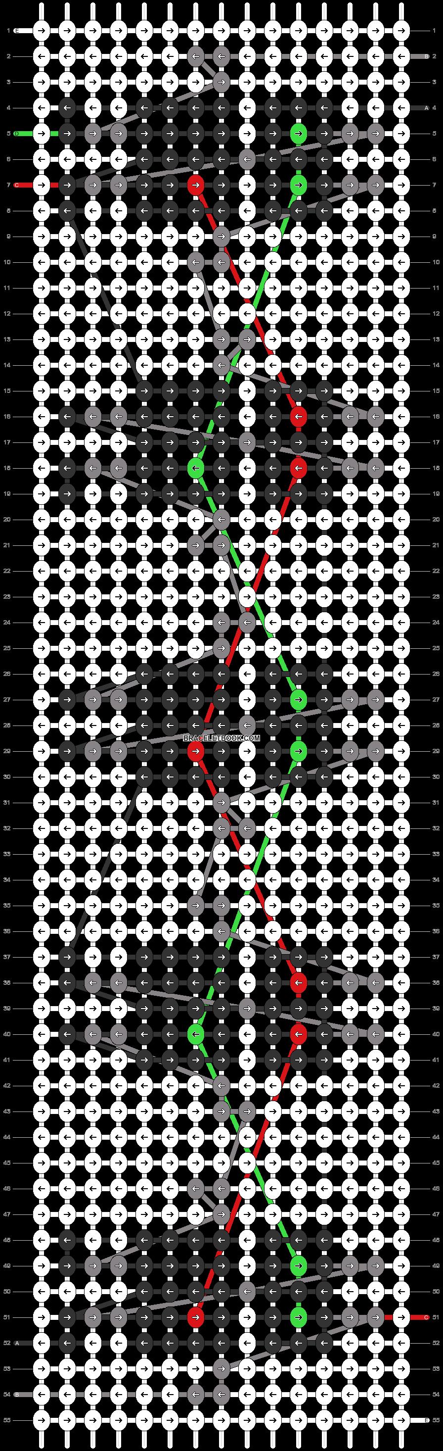 Alpha pattern #42863 pattern