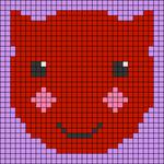 Alpha pattern #42877
