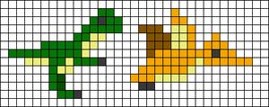 Alpha pattern #42883