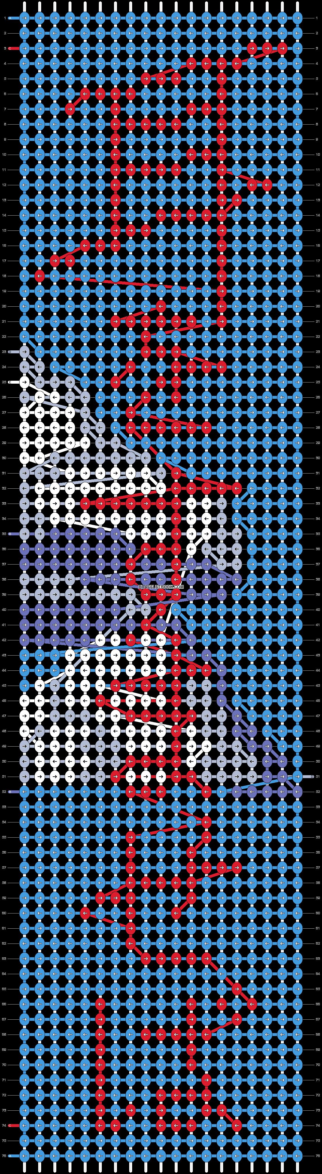 Alpha pattern #42892 pattern