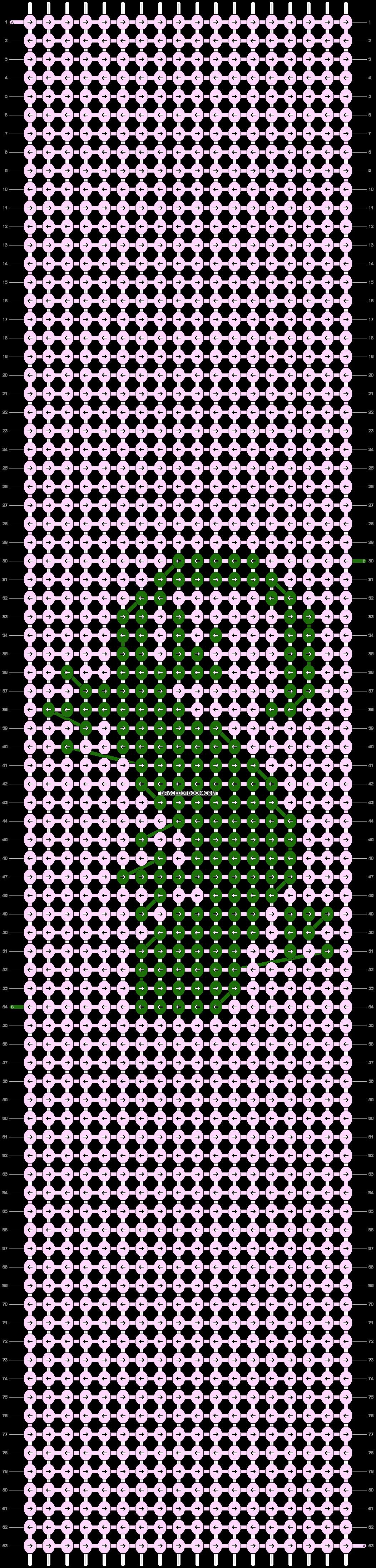 Alpha pattern #42918 pattern