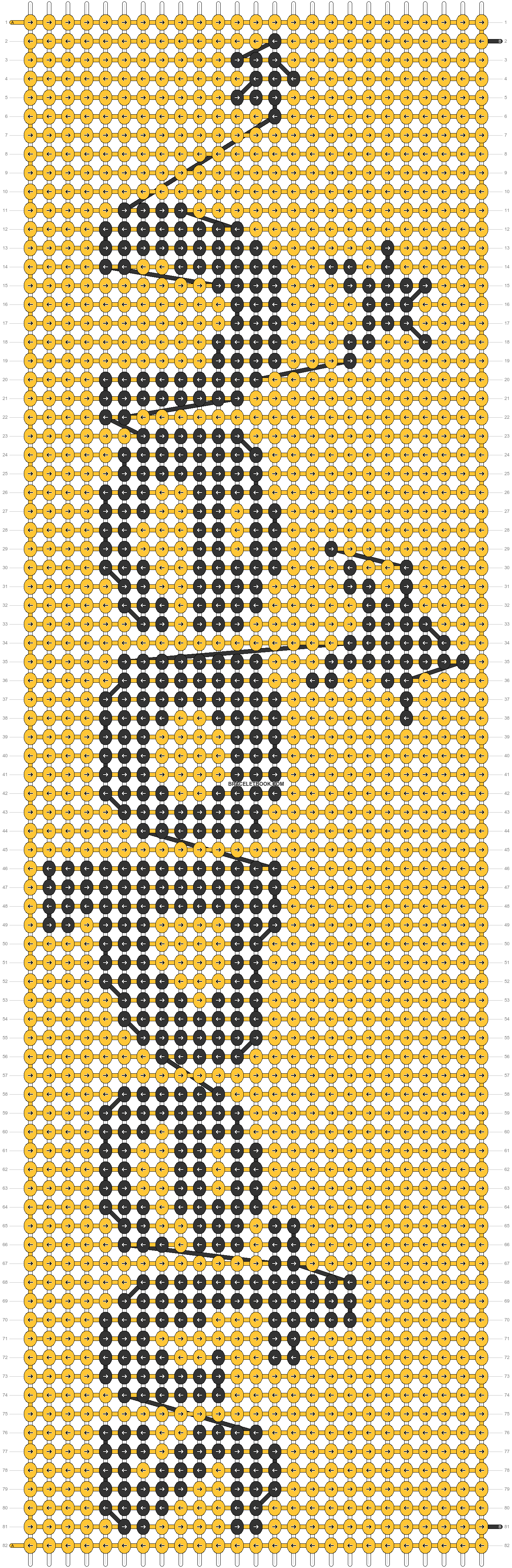 Alpha pattern #42919 pattern