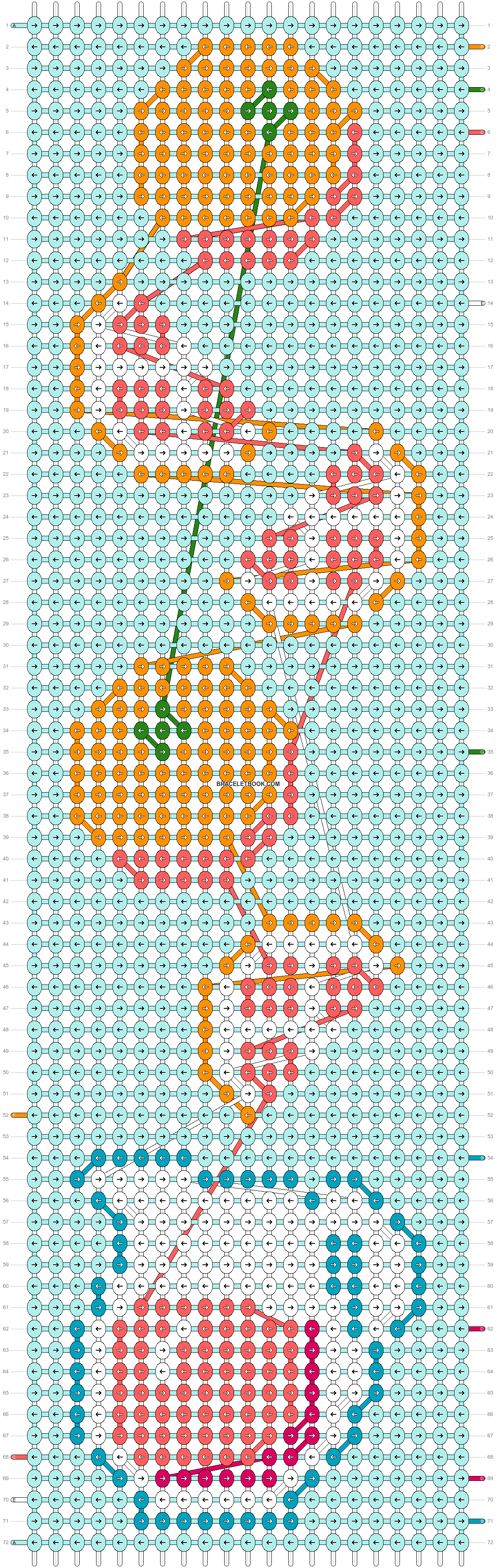 Alpha pattern #42931 pattern
