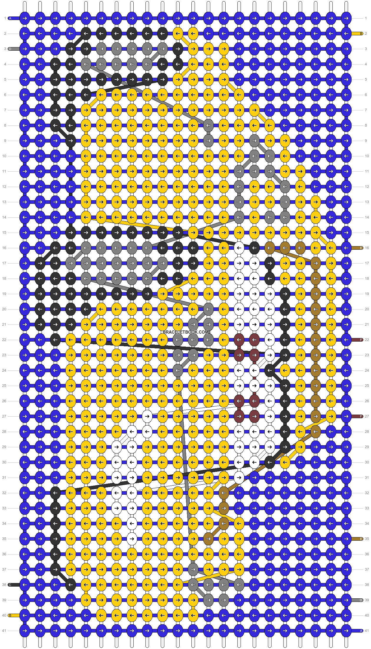 Alpha pattern #42950 pattern