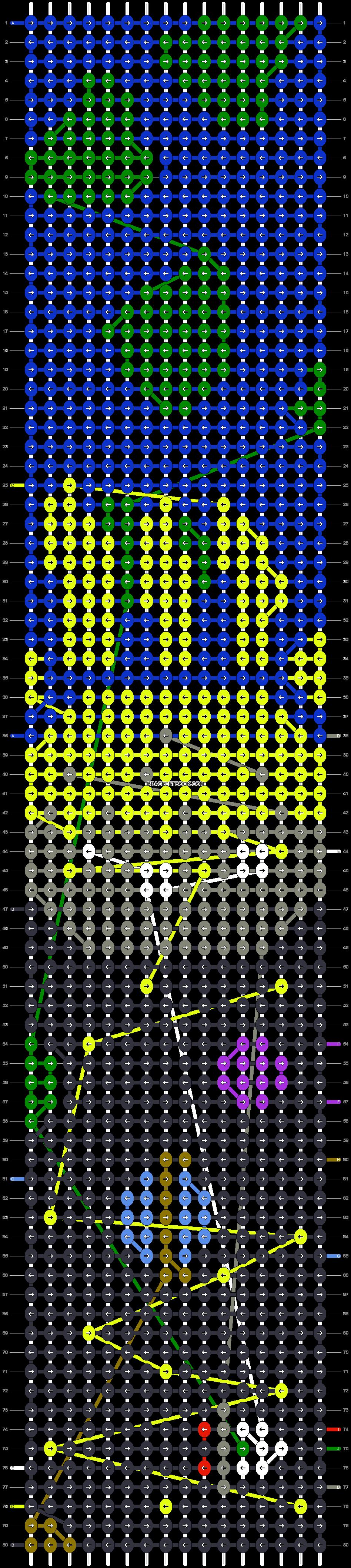 Alpha pattern #42976 pattern