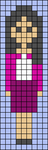 Alpha pattern #42977