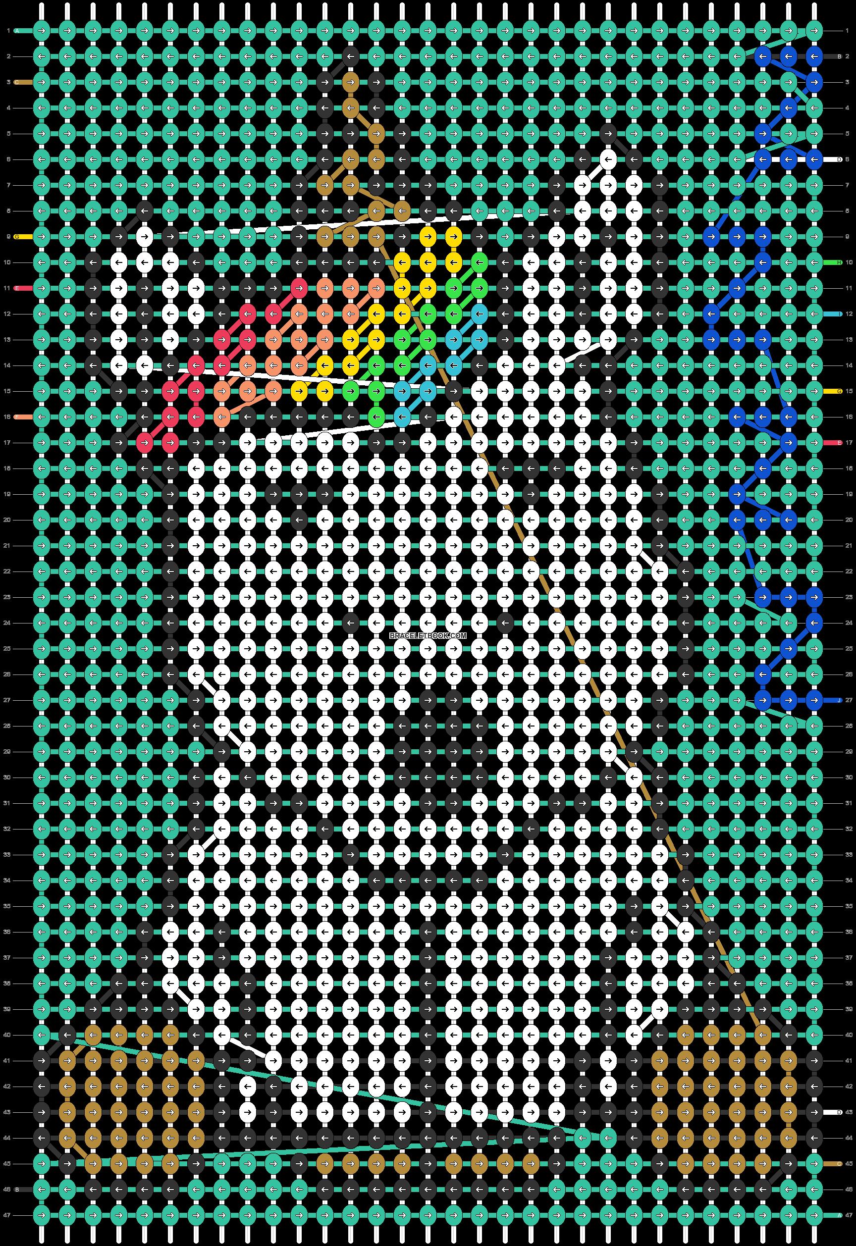 Alpha pattern #42985 pattern