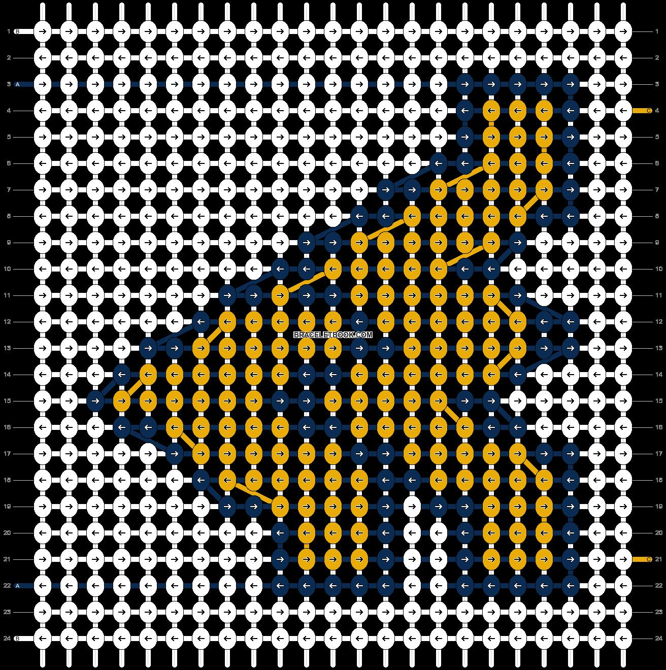 Alpha pattern #43017 pattern