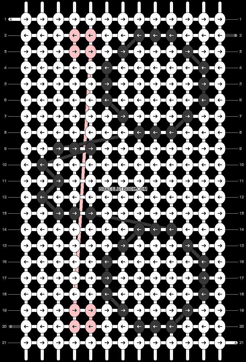 Alpha pattern #43042 pattern