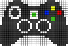 Alpha pattern #43043