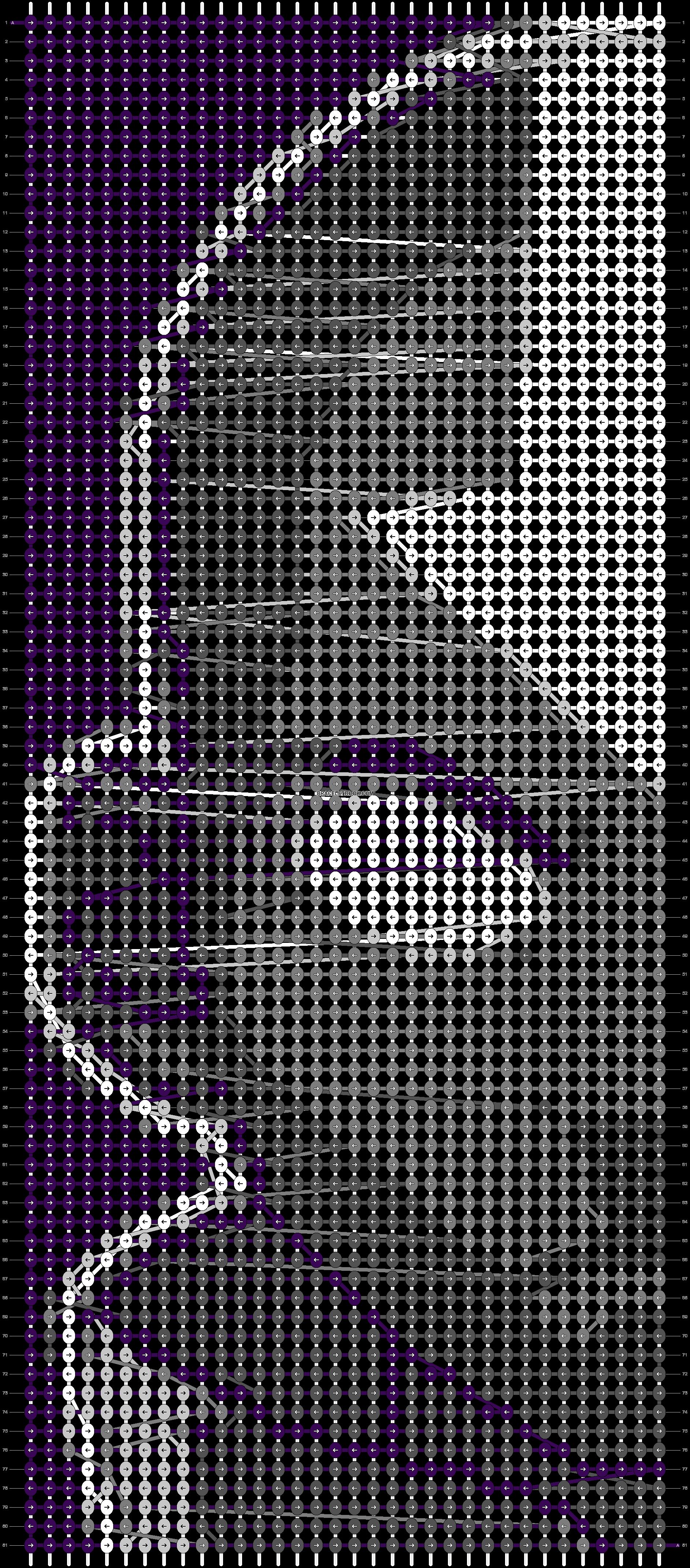 Alpha pattern #43097 pattern