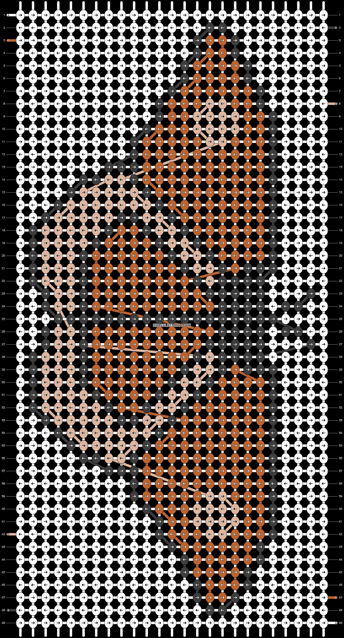 Alpha pattern #43098 pattern