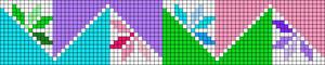 Alpha pattern #43100