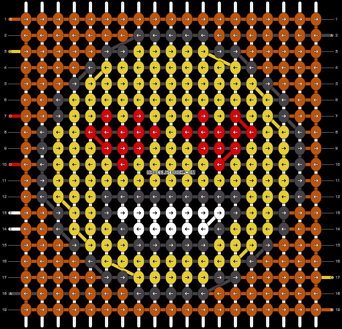 Alpha pattern #43107 pattern