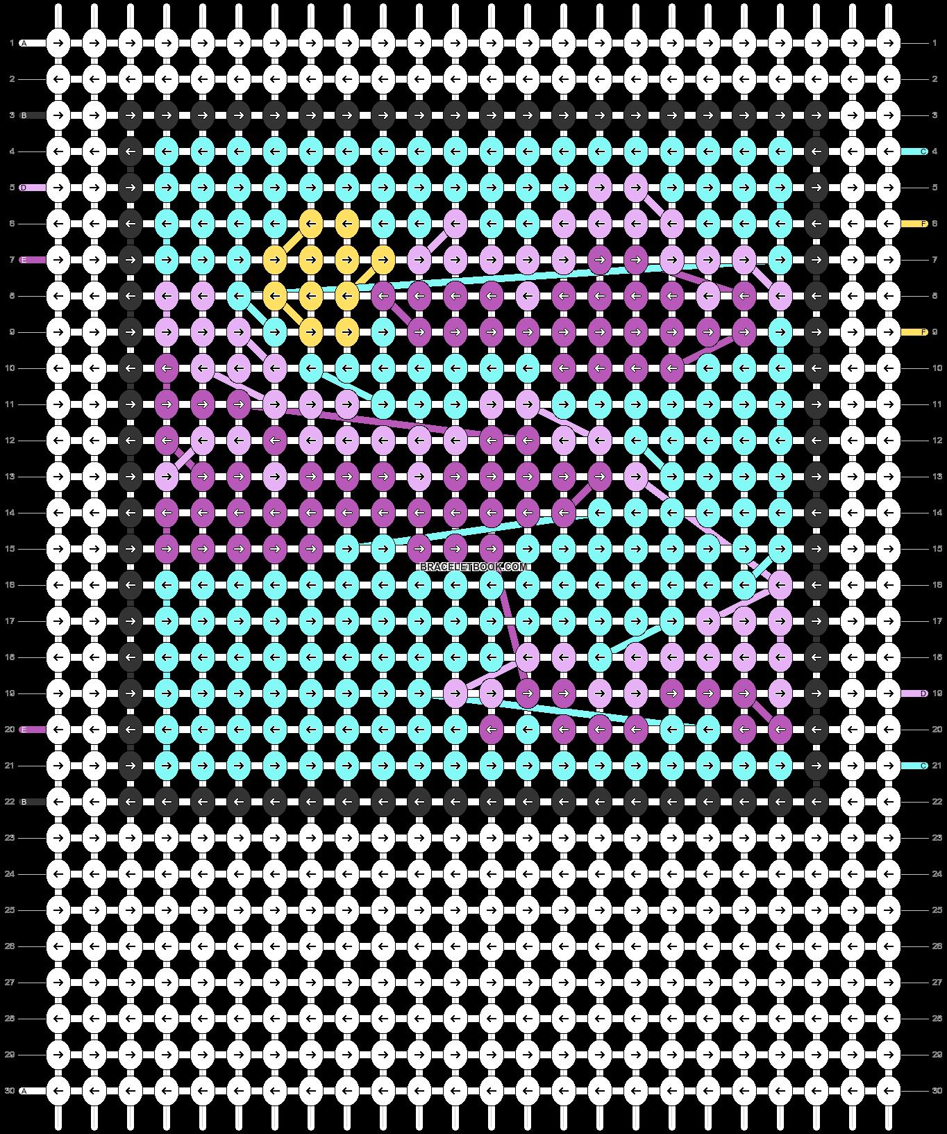 Alpha pattern #43124 pattern