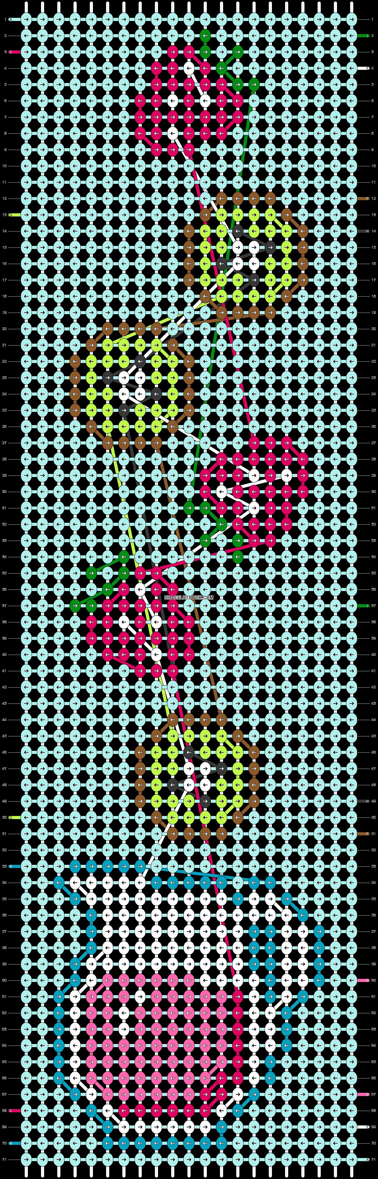 Alpha pattern #43127 pattern